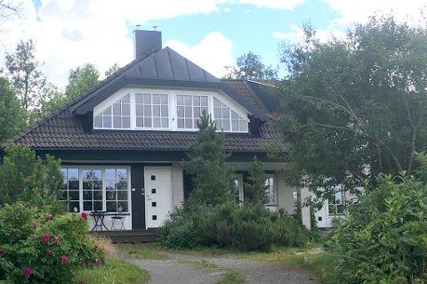DYREST: Denne eneboligen på toppen av Tromsøya utgjorde den dyreste boligtransaksjonen i juli.