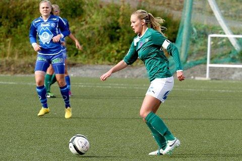 SCORET IGJEN: Sara Johansen spilte søndag sin tredje kamp etter comebacket - og scoret sitt første mål.