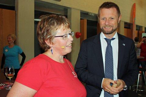 FYLTE 15: Helseminister Bent Høie gjestet 15-årsjubileet til Trude Westers selskap Privat omsorg nord. - Han har fulgt oss lenge, sier Wester.