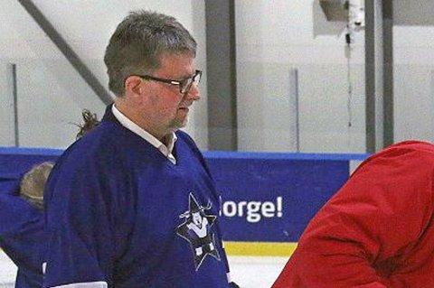 FORTVILER: Styreleder i Tromsø Hockey, Arild Hausberg.