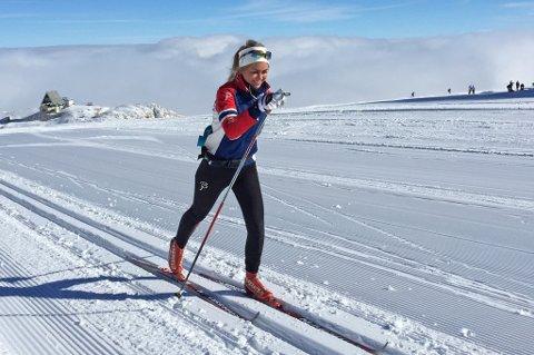 UTTATT TIL VERDENSCUPRENN: Emilie Kristoffersen får sjansen til å teste neste års OL-løyper.