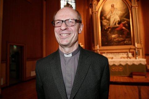 LETTET: Biskop Olav Øygard mener det var på høy tid det kom en avklaring.