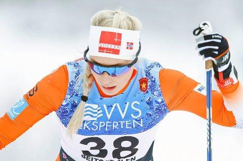 Lovise Heimdal har sikret seg plass i den norske troppen til U23-VM.