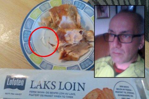MAKS ULAKS: Jim Vegard Karlsens søndagsmiddag ble ikke helt som forventet. Nå legger lakseprodusenten seg flat.