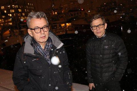 KOMPANJONGER: Ole Johannes Monsen og Per I. Aronsen. Arkivfoto: Rune Endresen