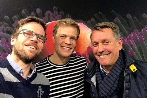 GUNNAR GUNNER PÅ: En svært frisk og opplagt Gunnar Wilhelmsen, med nærmere 20 år bak seg som TILs leder og styreformann, er gjest hos Anders Mo Hanssen og Jo Nymo Matland i fotballpodkasten JoMos Kosmos.