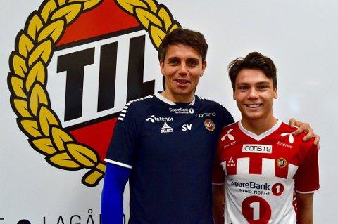 Simo Valakari kan fornøyd konstatere at Sigurd Grønli har signert en treårskontrakt med TILs A-lag.