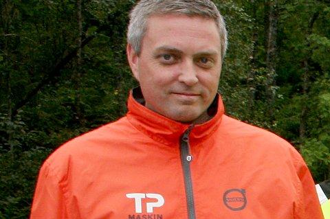 Entreprenør Trond Pettersen i TP Maskin tar grep for å hindre flere tyverier.