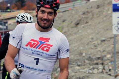 MOTIVERT OG BEDRE: Andreas Nygaard har gjennomført tester som viser at han er i bedre form enn noen gang. Det håper 26-åringen skal hjelpe han til å nå sitt største mål som langrennsløper, med å vinne Vasaloppet, som han tapte på målstreken i mars.