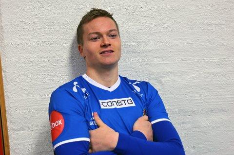 USIKKER TIL-FREMTID: Aron Sigurdarson vil tenke seg nøye om etter sesongen hva han skal gjøre i 2018. Spilletid i TIL er ingen garanti for islendingene som jakter plass i den islandske VM-troppen neste år.