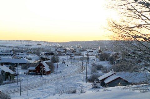 KALDT: Fredag morgen var det 26,7 minusgrader i Kautokeino. Det er vinterens hittil laveste temperatur. Foto: Johan Mathis Gaup