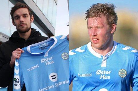 URO: Remi Johansen og Tomas Kristoffersen spiller i Sandnes Ulf, som for tiden har en urolig situasjon der enkelte spillere skal ha blitt utestengt fra trening med resten av laget.