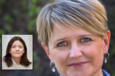 Thrina Loennechen er tilsatt som dekan ved det helsevitskapelege fakultet, og Lena Bendiksen er tilsatt som dekan ved Det juridiske fakultet. Dermed er alle de nye dekan-stillingene til Universitetet i Tromsø besatt. Foto: UIT