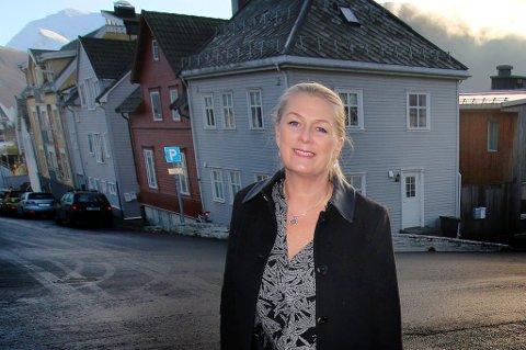 Direktør Gina Lund i Karriere Norge har fått flere henvendelser fra andre steder i landet hvor folk som jobber med karriereveiledning, som ønsker å være en del av nysatsingen hun skal bygge opp i Tromsø. Foto: Stian Saur