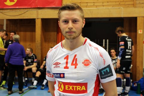 BRAVOS BESTE: Richard Skålevik satte inn ti mål mot Elverum 2 i søndagens hjemmeseier.