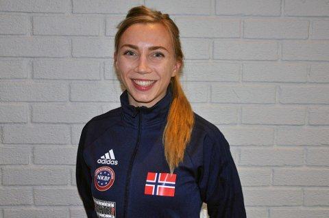 SEMIFINALEKLAR: Nordreisa-jenta Kristin Vollstad.