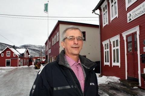 Hermann J. Uteng, leder i Gibostad grendeutvalg.