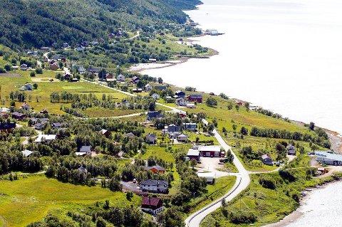 Brøstadbotn i Dyrøy kommune. Her får innnbyggerne utbetalt 119.001 kroner i gjennomsnitt.