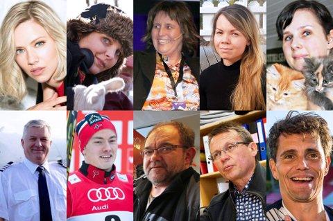 Her er kandidatene til å bli Årets nordlending. Foto: Nordlys