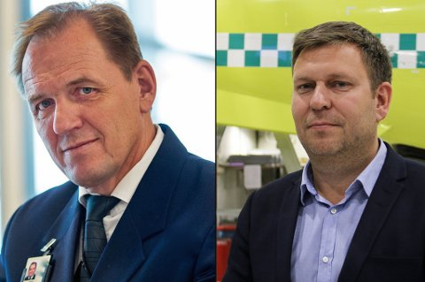 BEKYMRET: Administrerende direktør Frank Wilhelmsen i Lufttransport forteller at seks personer i selskapet sa opp rett før månedsskiftet. Yngve Carlsen, leder i Norsk Flygerforbund, er bekymret for hva som vil skje med tjenesten om det blir flere oppsigelsee.