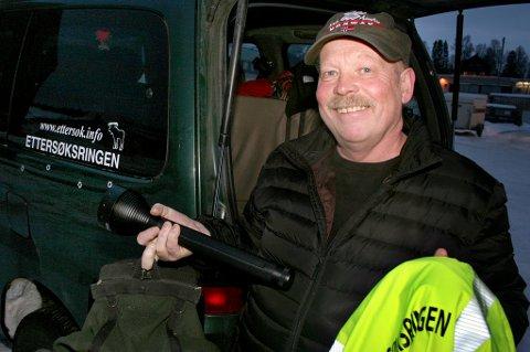 ALLTID BEREDT: I 30 år har Jan Oddvar Eriksen vært på vakt i viltets tjeneste, døgnet rundt - 365 dager i året. Uten betaling.