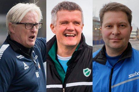 MULIGE KANDIDATER: Etter det Nordlys kjenner til skal navn som Bård Flovik, Tore Rimo og Jan Tore Bakli være med i vurderingen når TUIL er i gang med å sondere rundt hvem som kan bli klubbens nye hovedtrener for A-laget.