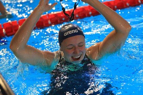 EM-FINALE: Setermoen-svømmeren Susann Bjørnsen er klar for finale på 100 meter medley under kortbane-EM i svømming.