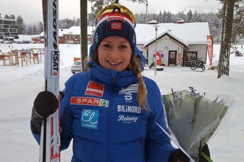 SUKSESS I FINLAND: Anna Svendsen tangerte sin beste plassering i Skandinavisk Cup med andreplass på søndagens ti kilometer klassisk i Vuokatti.
