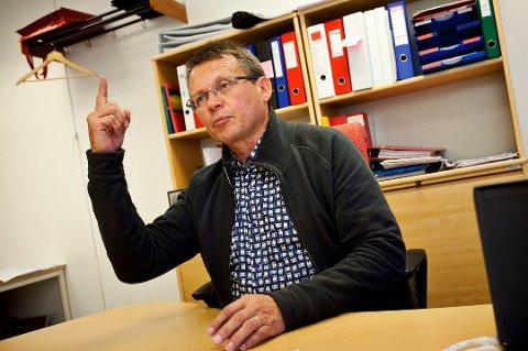 KREVER AVGANG: Det er ikke første gang, men Knut Bjørklund i Troms Idrettskrets ser ingen annen utvei enn at idrettspresident Tom Tvedt må gå av etter den siste tidens innsyn og avsløringer i pengebruken.
