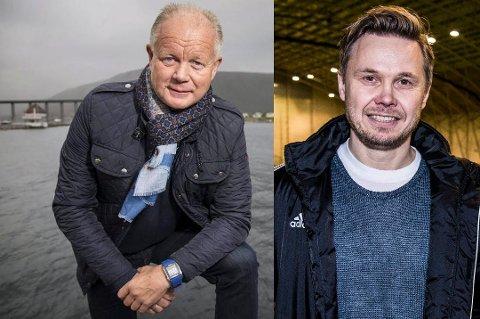 KLARE FOR SAMARBEID: Bjørn Johansen (t.h.) er enig med Fredrikstad om en toårsavtale, og kommer inn som assistenttreneren til Per-Mathias Høgmo.