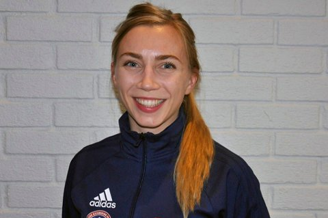 VERDENSMESTER: Kristin Vollstads VM-gull gjorde at kickbokseren fra Nordreisa var svært nær topplasseringen i kåringen av årets nordnorske idrettsnavn, men 26-åringen sier seg godt fornøyd med en andreplass på lista.