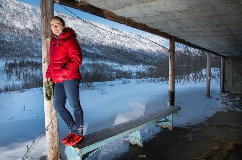 FANT DOKUMENTASJON: Hanne Johnsen gransker skytebanesaken. Foto: Oe Åsheim