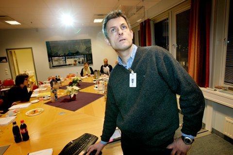 INGEN OMKAMP: Tor Ingebrigtsen og UNN-ledelsen vil gå helhjertet inn for å bidra til etableringen av PCI-tilbudet i Bodø.