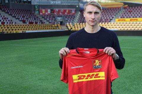 NYTT EVENTYR: Ulrik Yttergård Jenssen er klar for et nytt opphold i utlandet etter halvannet år hjemme som TIL-spiller. 21-åringen er nå bekreftet klar for danske FC Nordsjælland.