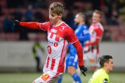 STOR INTERESSE: Flere klubber har allerede kommet med konkrete henvendelser til TIL om Thomas Lehne Olsen, som ønsker seg bort. Både Sarpsborg 08 og Vålerenga skal være blant de interesserte klubbene.