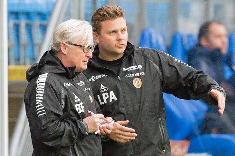 TUIL-TAUSHET: Både Bård Flovik (t.v) og Lars Petter Andressen (t.h) er nevnt som potensielle kandidater til trenerjobben i TUIL.