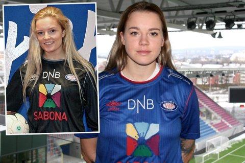 VIF-KLARE: Tromsøjentene Guro Pettersen (t.v) og Marie Dølvik Markussen (t.h) er klare for høytsatsende Vålerenga kommende sesong.