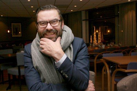 Hogne Eidissen (50) blir historisk som første rådmann i nye Senja kommune.