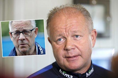 SPENT: Tidligere landslagssjef Per-Mathias Høgmo er spent på fortsettelsen for norsk A-landslagsfotball etter at NFF ansatte svenske Lars Lagerbäck som sin etterfølger.