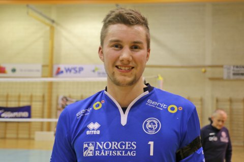 «OUTSTANDING»: Kristoffer Alstad Østvik tok ny personlig rekord - og sesongrekord for antall poeng i en kamp lørdag.