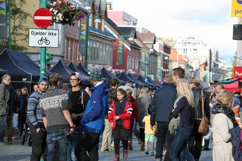BLOMSTRER: Troms er det fylket i nord som hadde størst befolkningsvekst i fjor - for andre år på rad. Tromsø er er stort trekkplaster for mange som besøker Nord-Norge.