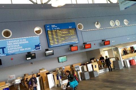 KONSEKVENSER: En streik vil få konsekvenser for flytrafikken. Arkivfoto: Anders Opdahl