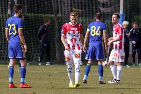 Millionkjøpet Slobodan Vuk har kommet på banen for TIL mot FC Rostov.