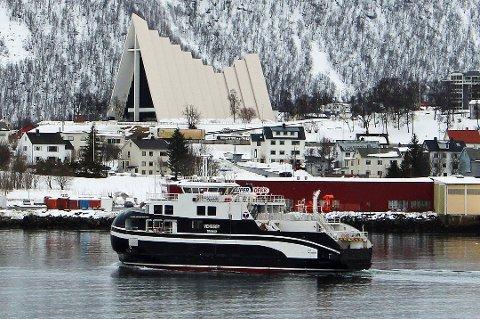 SKADET PROPELLEN: MF «Vengsøy» var på vei fra Musvær til vengsøy, da hendelsen skjedde.