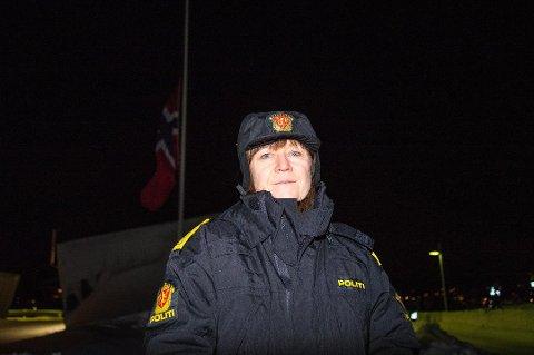 FORHOLDSREGLER: Sysselmann Kjerstin Askholt har besluttet å evakuere Gruvelageret på Svalbard på grunn av stor fare for snøskred.