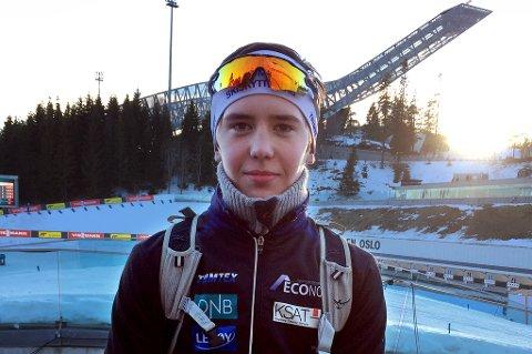 Trym Silsand Gerhardsen sikret en knallsterk andreplass i Holmenkollen lørdag. På sikt tror han veien fører bort fra Tromsø, i jakten på å bli så god som mulig.