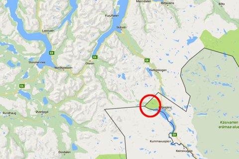 PÅ SKUTERTUR: Turfølget tilhører Tromsø-miljøet i Kilpisjärvi, og ble rammet av skred da de var på skutertur i nærheten av Treriksrøysa.