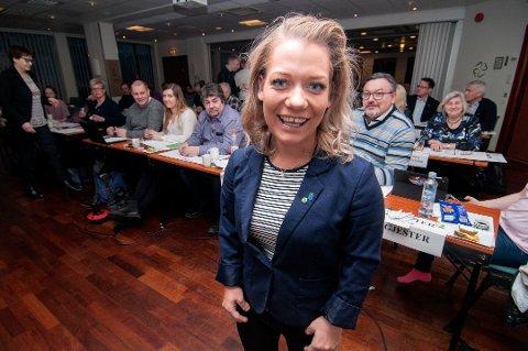 VIL UTREDE: Troms Sp og Sandra Borch ønsker utredning av Tromsbanen.