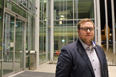 HØYRE: Erlend Svardal Bøe er gruppeleder i Tromsø Høyre.