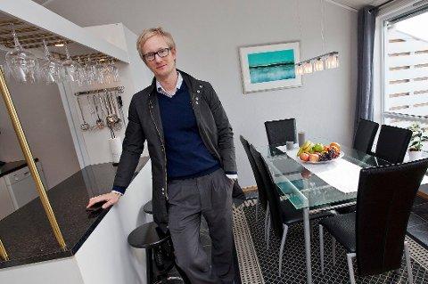 TROR PÅ VEKST: Tom Espen Stormo, daglig leder i meglerhuset Sne, mener at prognosene på 19,2 prosent prisvekst på boliger i Tromsø fram til 2019, er moderate.